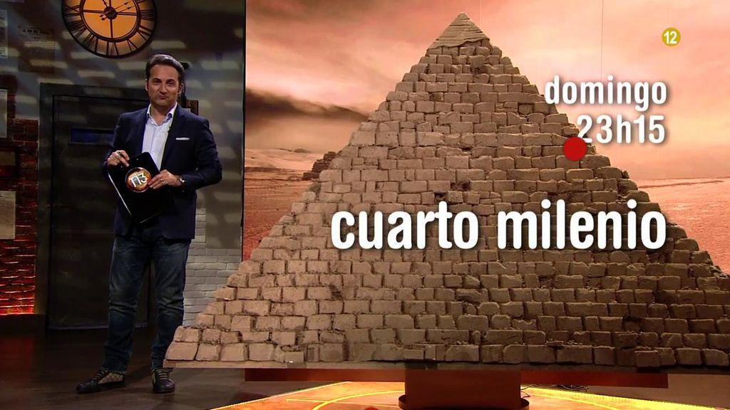 La cámara secreta de la gran pirámide de Egipto, este domingo en ...