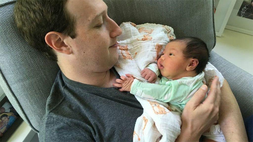 Mark Zuckerberg se coge el permiso de paternidad para disfrutar de su segunda hija