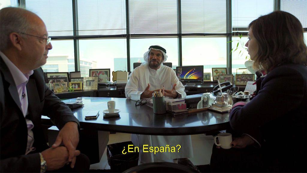 """Ali Albwardy, jeque: """"Los españoles prefieren quedarse en casa que ir a trabajar"""""""