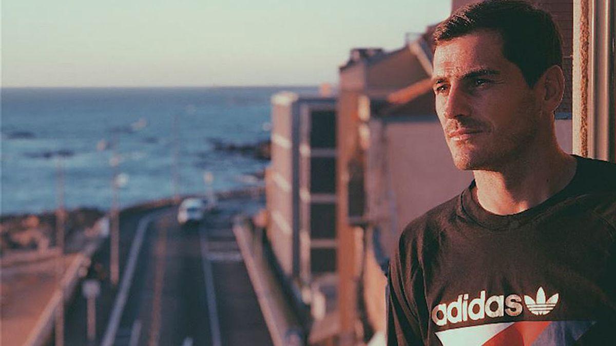 Casillas se pone romántico con Sara Carbonero en brazos y un atardecer de película en Oporto
