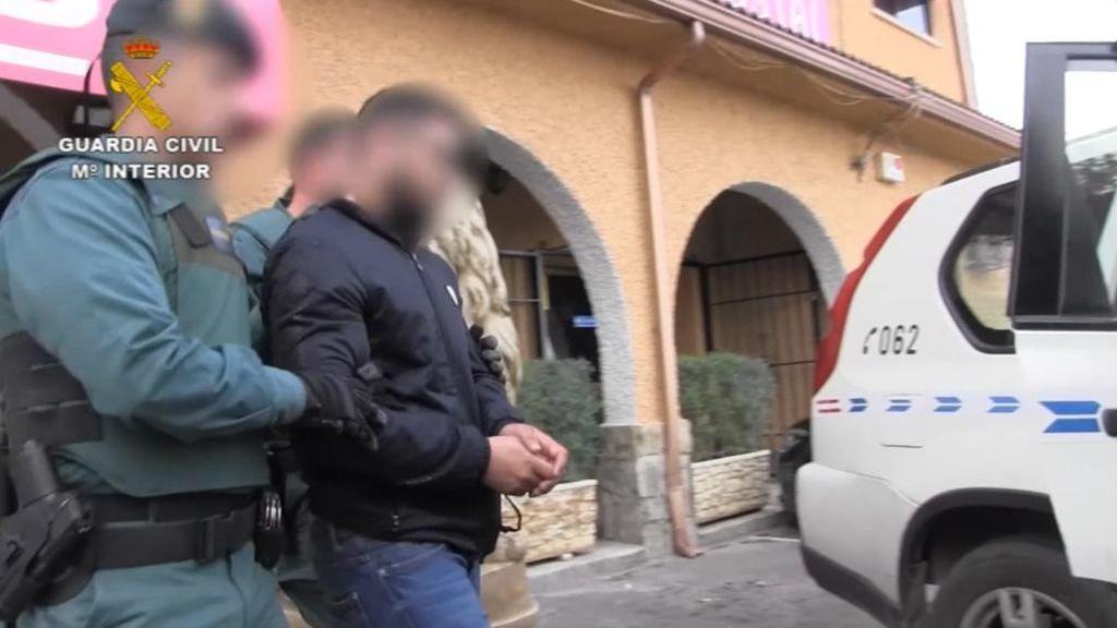 Detenidos tres hombres por secuestrar a una persona en Toledo para pedir un rescate