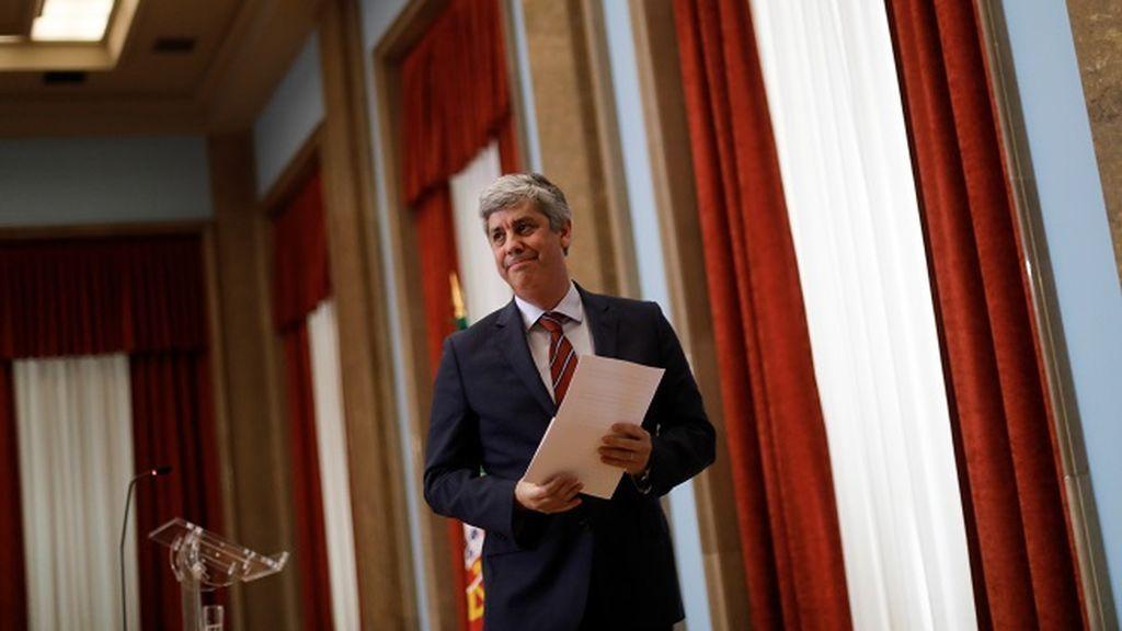El ministro portugués de Finanzas, Mário Centeno, nuevo presidente del Eurogrupo