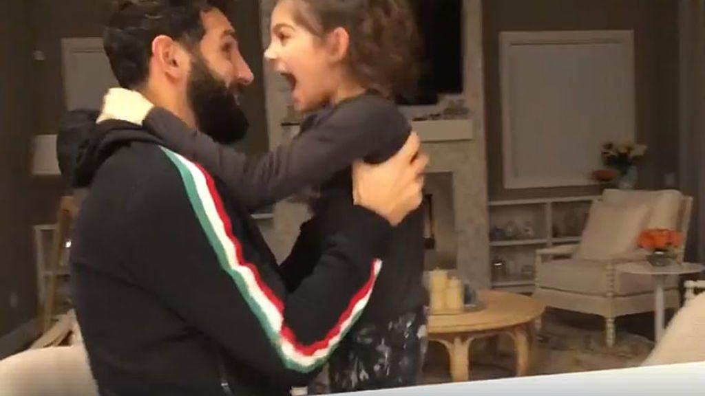 La mágica reacción de la hija de Diego Valeri al enterarse de que su padre ha ganado el premio a mejor jugador de la Liga en EEUU