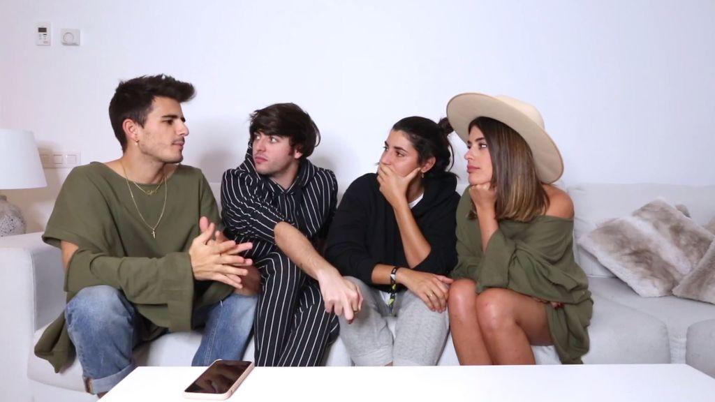 Dulceida y Alba se someten al '¿Le sigue o no le sigue? challenge'