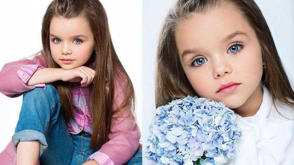 Anastasia Knyazeva, la niña de seis años aclamada como la más bella del mundo