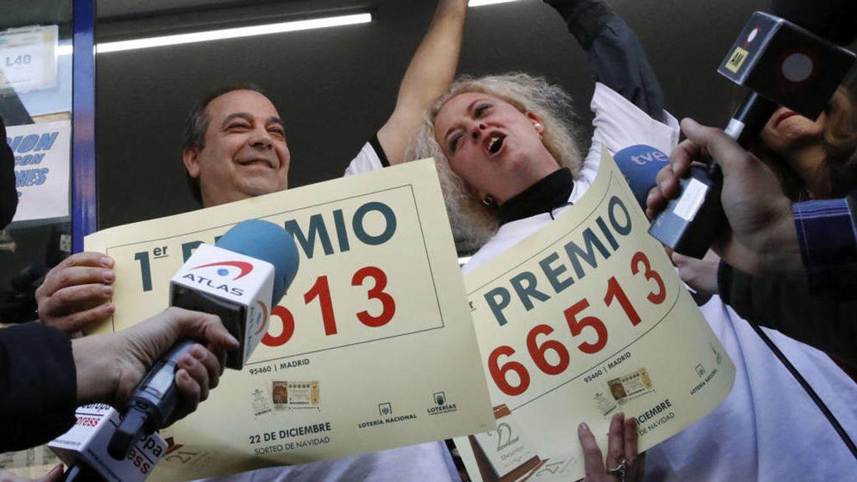 ¿Dónde y cómo cobrar un décimo de lotería premiado y compartido?