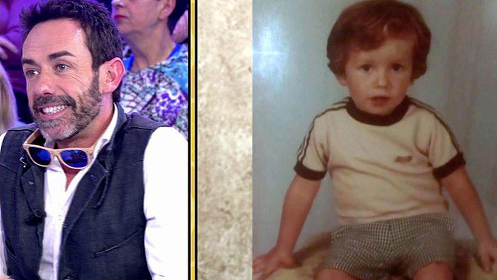 Así era Jesús Manuel Ruiz en su infancia