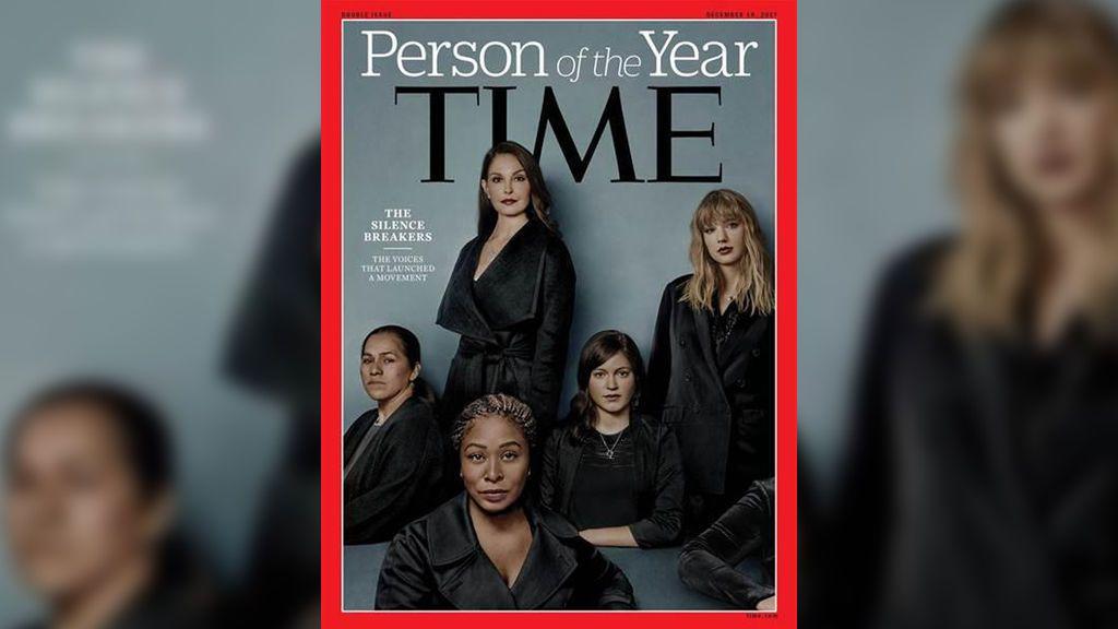 El movimiento contra el acoso #MeToo, personaje del año para 'Time'