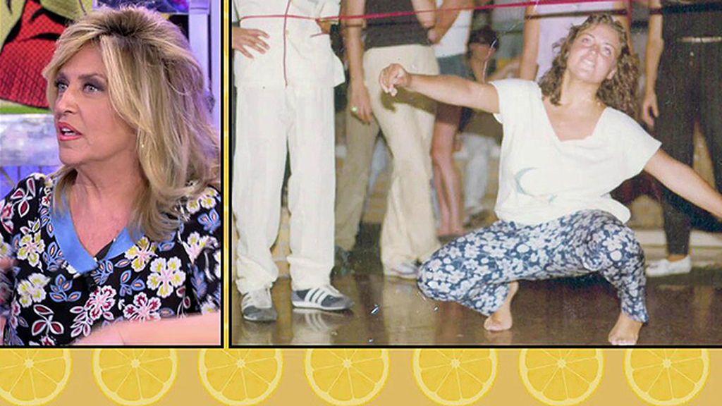 Así bailaba Lydia Lozano en el 78