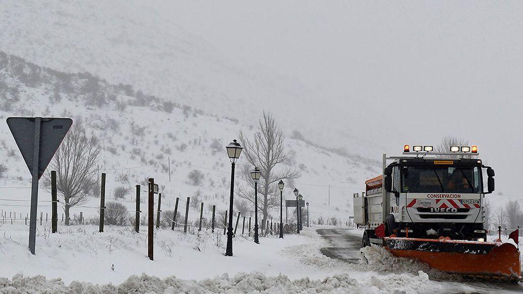 España se hiela: Los termómetros registran mínimas de hasta 10 grados bajo cero