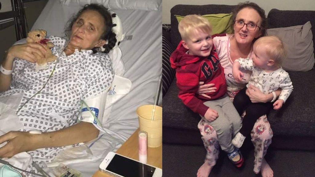 Una mujer podrá pasar la Navidad en casa tras recibir seis trasplantes de órganos en 20 horas