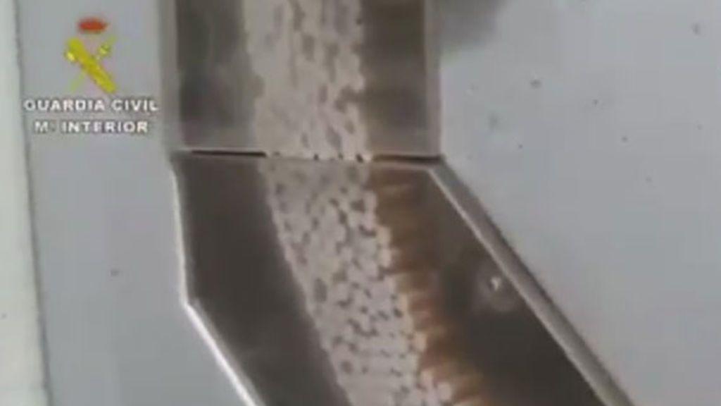 Desmantelada en Granada una fábrica ilegal de tabaco