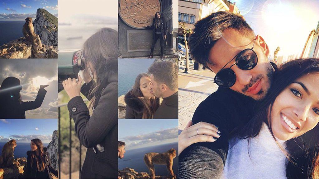 ¡¡'Habemus' beso!! El romántico viaje de Iván González a Gibraltar con su nueva novia