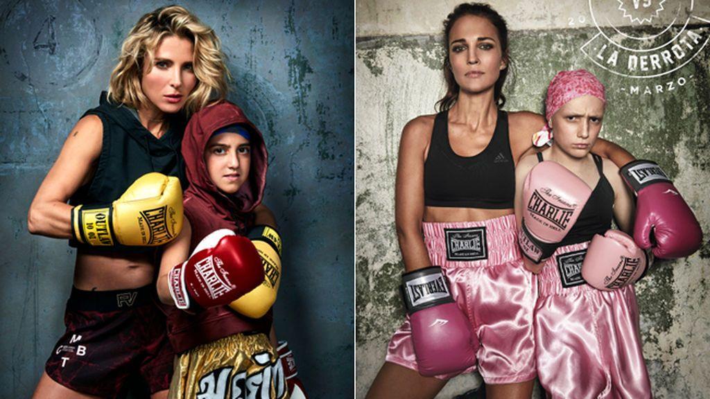 Paula Echevarría, Cristina Pedroche, Blanca Suárez… unidas por el boxeo y la lucha contra el cáncer infantil
