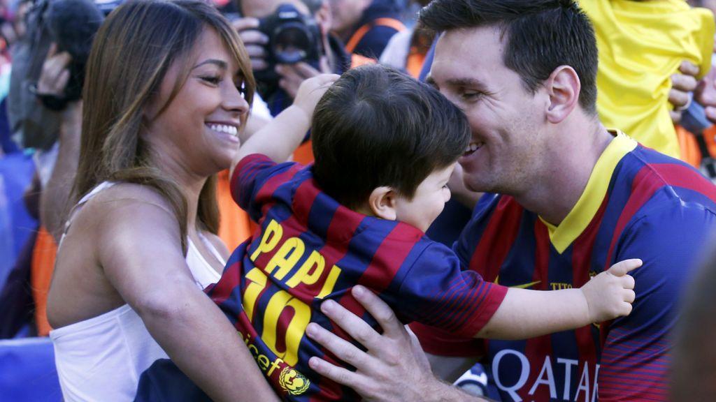 """Leo Messi, sobre sus dos hijos: """"Thiago es un fenómeno, Mateo un hijo de p***"""""""
