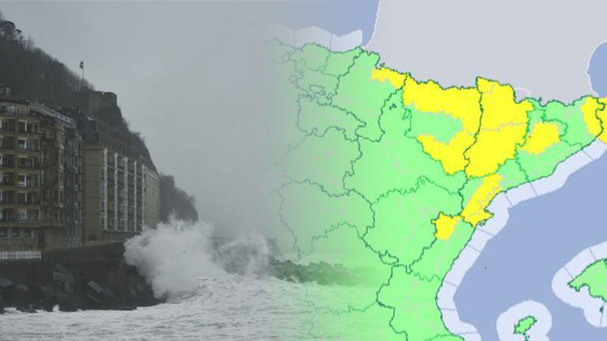 Frío, nieve, olas y viento: siete provincias en alerta en el día de la Inmaculada