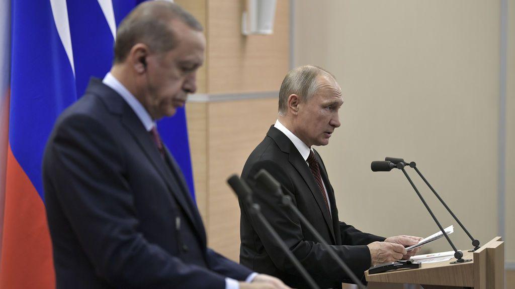 Erdogan y Putin expresan su preocupación por el reconocimiento de Trump a Jerusalén