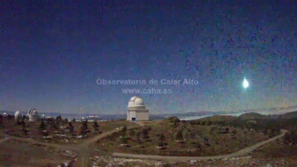 Un asteroide ilumina el cielo de Castellón