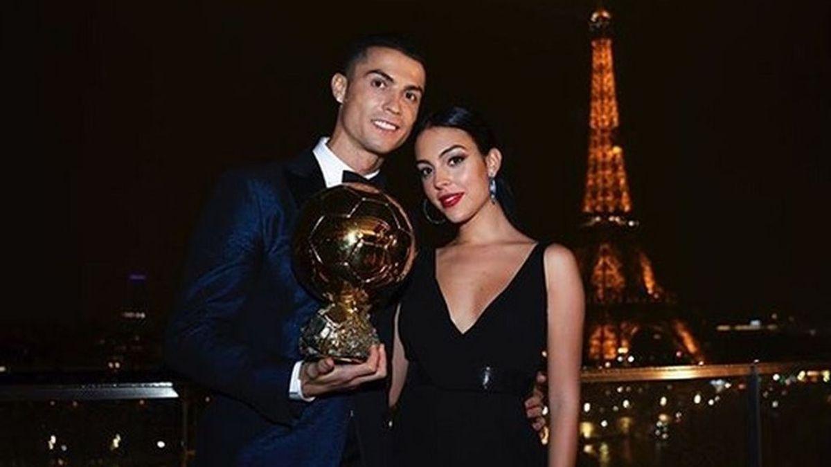 Georgina muestra su orgullo por Cristiano Ronaldo con una dedicatoria en redes sociales