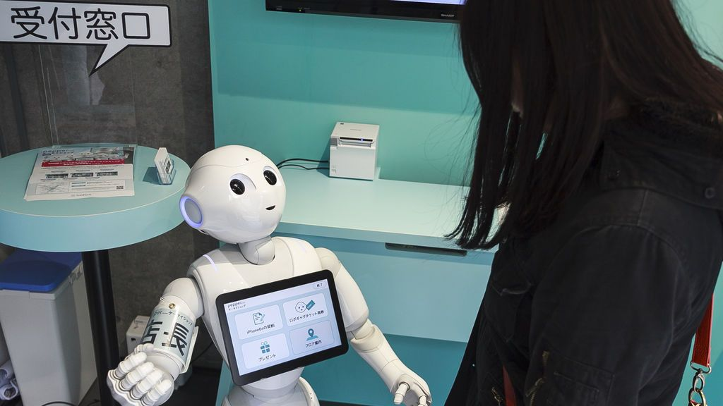 Un 27 por ciento de los jóvenes afirma que mantendría una relación con un robot