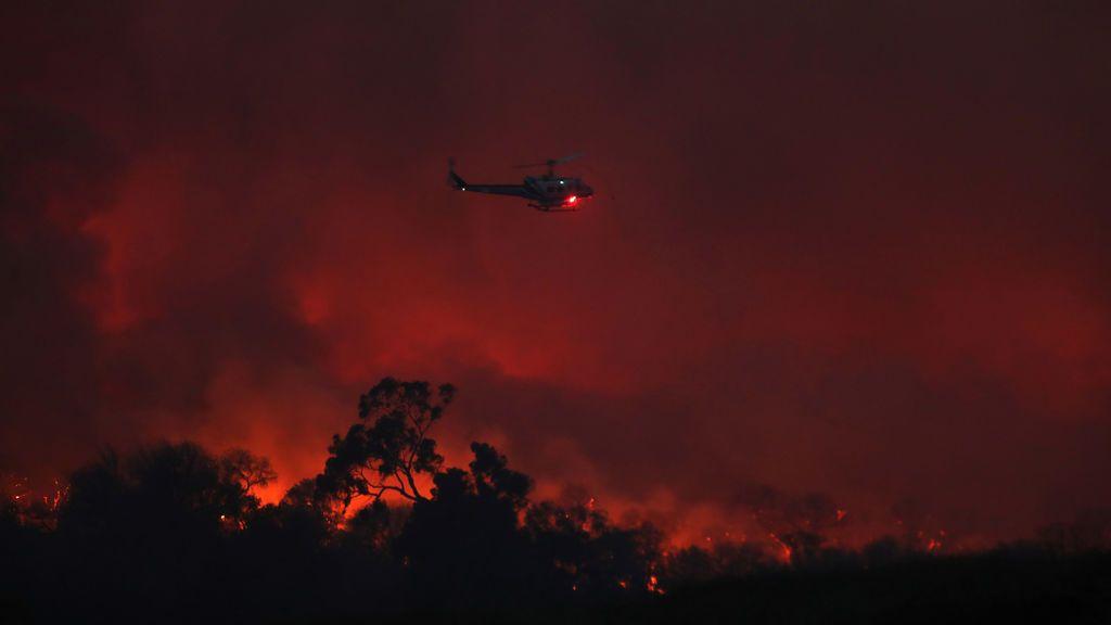 Los incendios se cobran su primera víctima mortal en California
