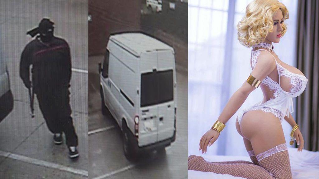 Un hombre roba una muñeca sexual valorada en 3.800 euros