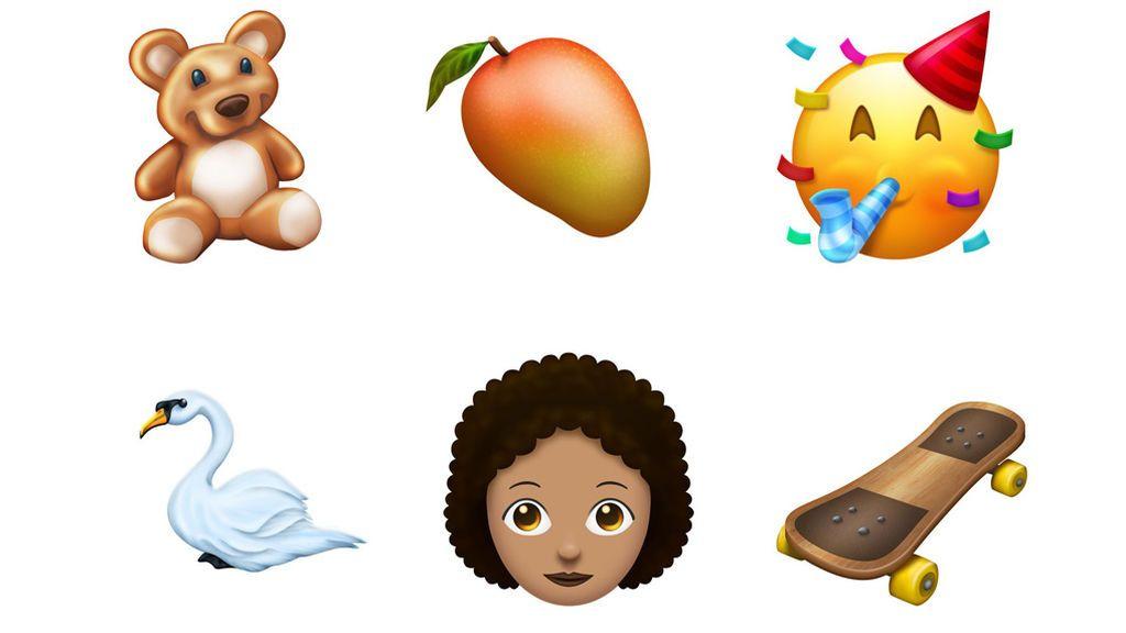 El 2018 trae novedades a la lista de 'emojis'