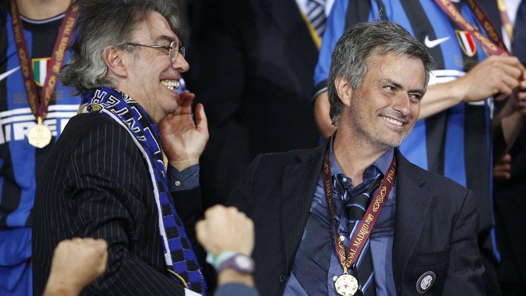 Moratti desvela en una entrevista lo que Mourinho pensaba del Real Madrid
