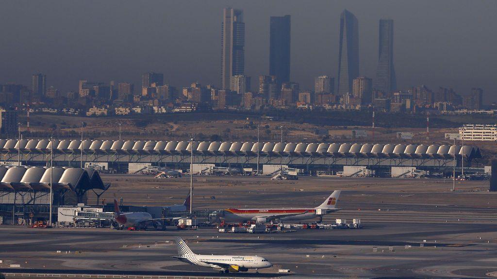 Ana obliga a desviar a Madrid a dos aviones que tenían previsto aterrizar en Vigo