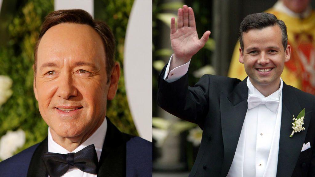 """El ex yerno del rey de Noruega acusa a Kevin Spacey de """"toqeutearle"""""""