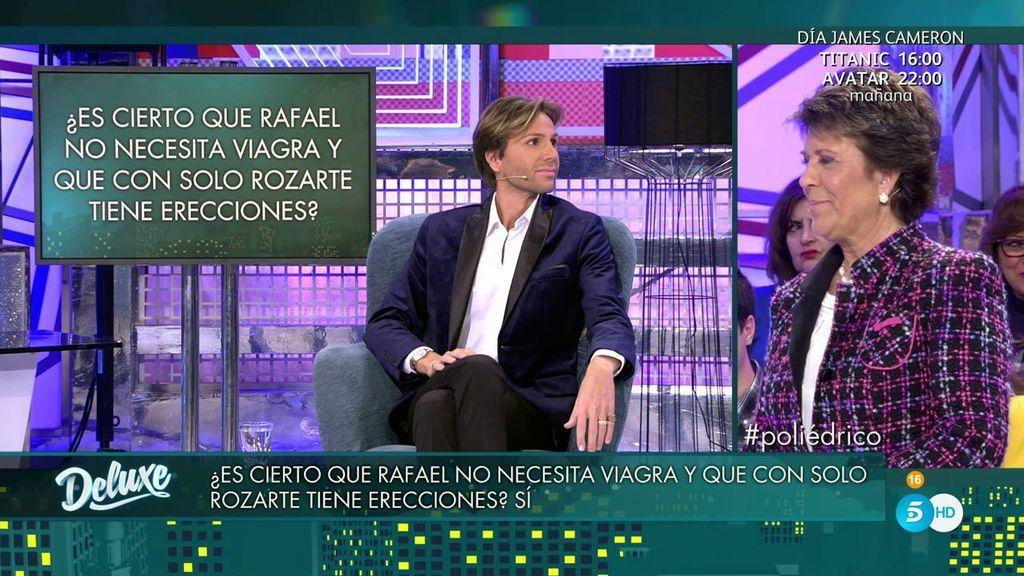 Erik Putzbach dice que Rafael no necesita viagra para tener sexo y Conchita determina que...