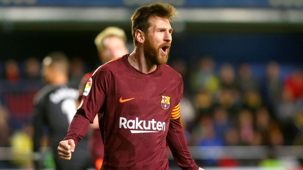 El Barcelona supera el examen frente al Villarreal y sigue su mandato de hierro (0-2)