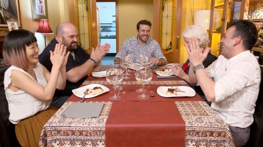 Imágenes de la semana 13 de 'Ven a cenar conmigo'.