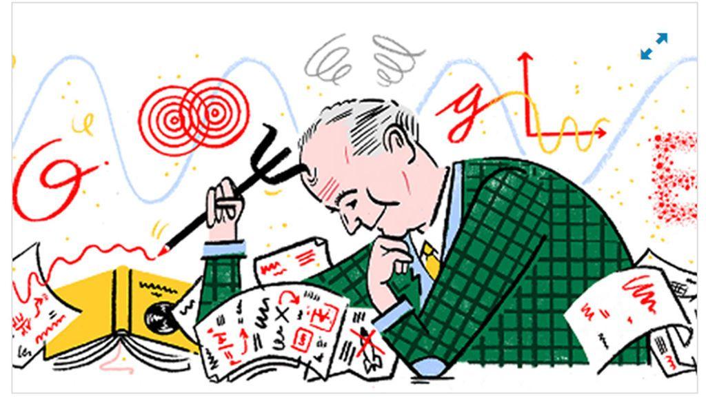 Max Born,  el doodle de Google dedicado al científico alemán que revolucionó la física cuántica