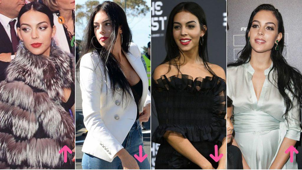 Aciertos y errores del estilo de Georgina Rodríguez