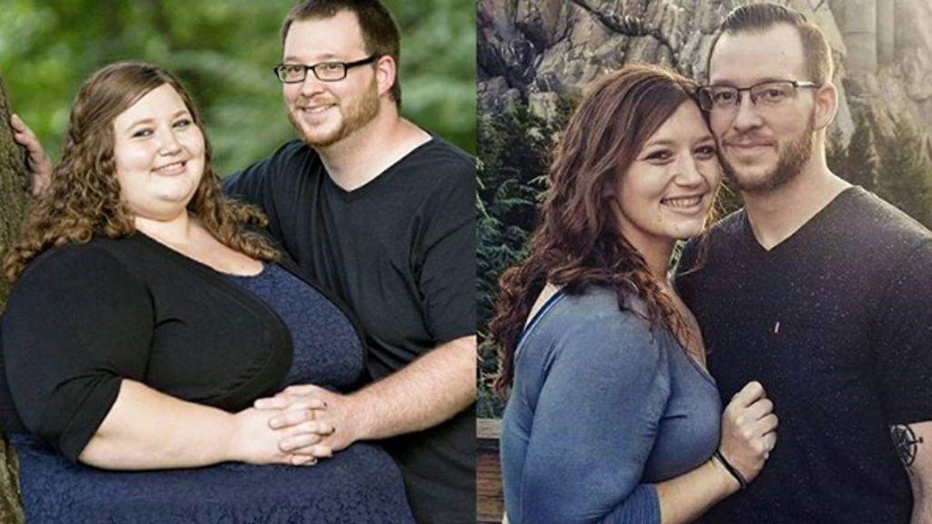 Una pareja se propone perder peso por Año Nuevo y su transformación conquista a la Red
