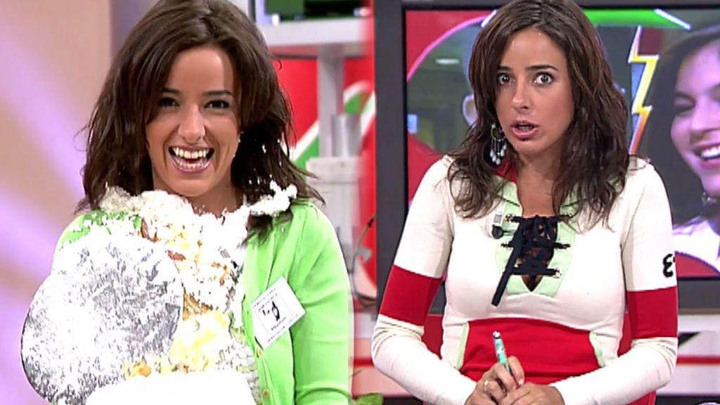Carmen Alcayde ya era una 'show woman': rescatamos su estreno como presentadora en 'Aquí hay tomate'