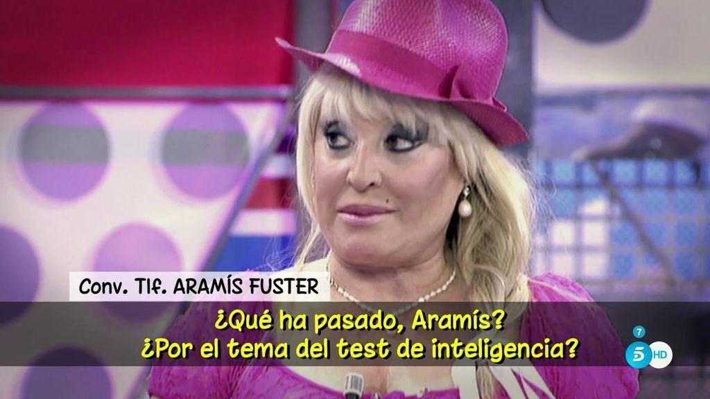 """Aramís Fuster, sobre su inteligencia: """"Soy la más cercana a Einstein"""""""