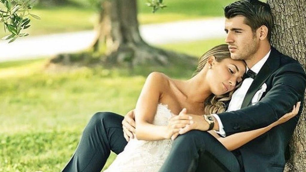 Morata y Alice Campello confirman que están esperando su primer hijo