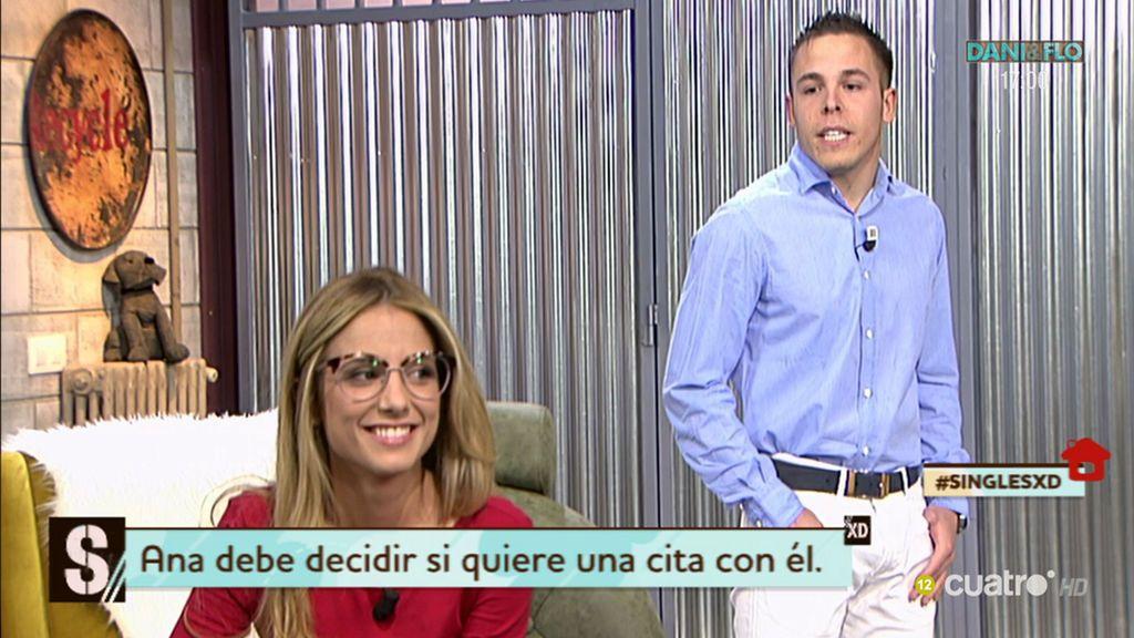 Ana Miranda acepta una cita con Sergio pero, ¿le ha gustado físicamente? 😕