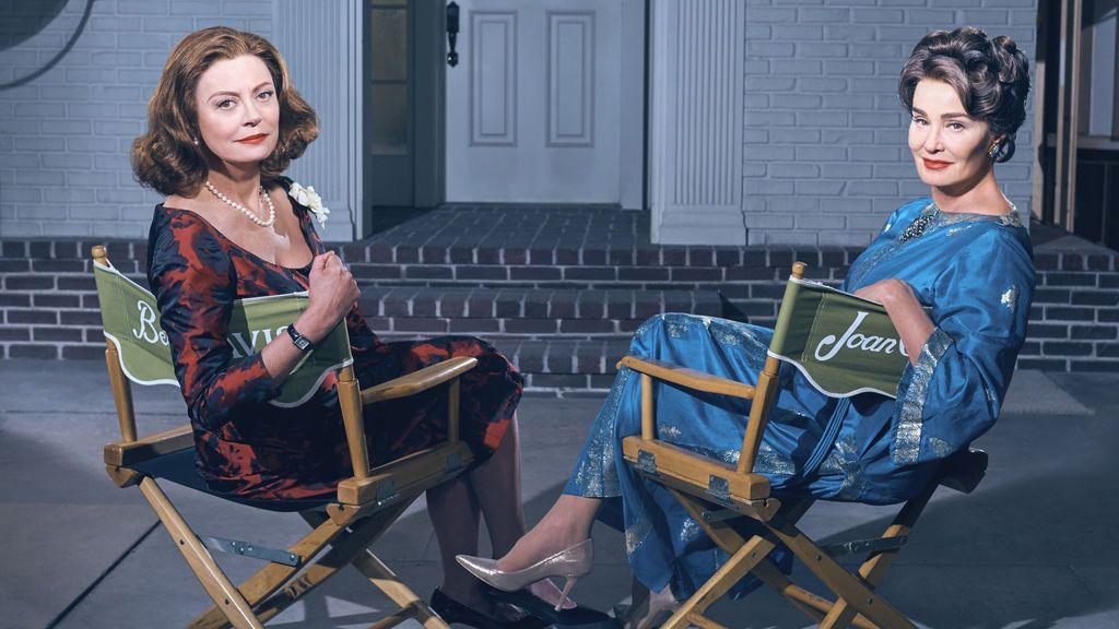 Susan Sarandon y Jessica Lange en 'Feud'.