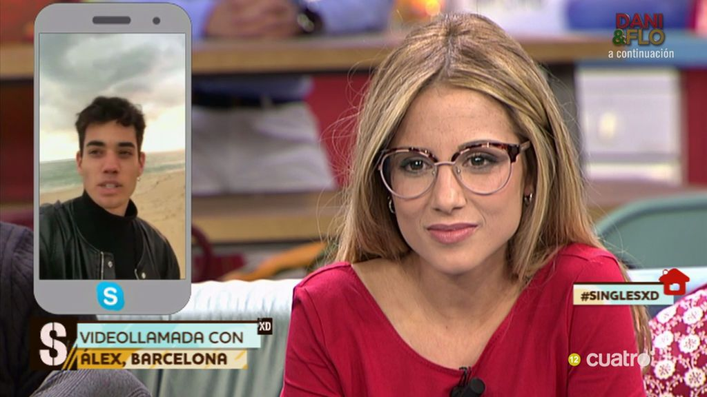 'Momento videollamada': Álex le pide una cita a @anitamirandag a través de Skype