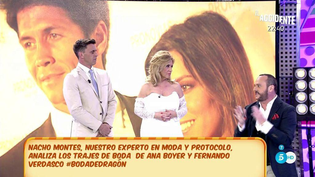 """Nacho Montes analiza los estilismos de la boda de Ana Boyer y Fernando Verdasco: """"Estaban horribles"""""""