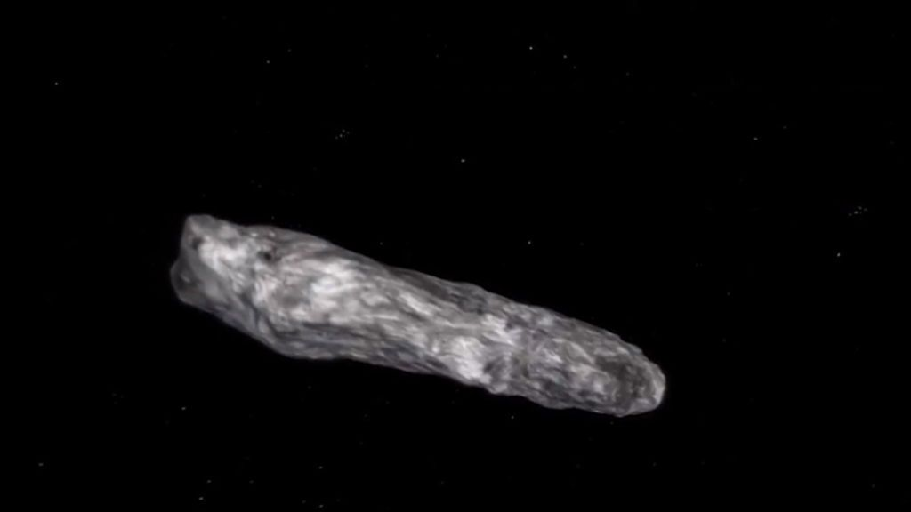 Oumuamua, ¿un asteroide o una nave de extraterrestres?