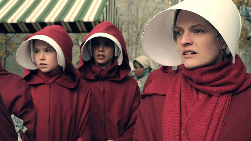 Elisabeth Moss, nominada como mejor actriz por 'El cuento de la criada'.