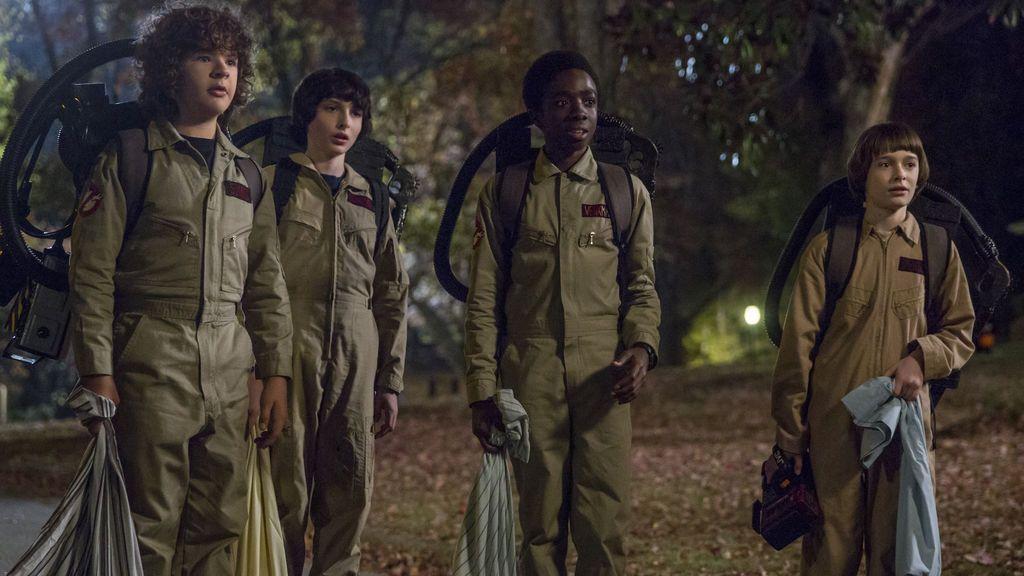 Imagen de la segunda temporada de 'Stranger things'.