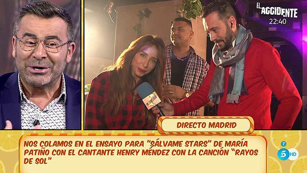 """Patiño lo ha pasado fatal en el ensayo de su canción: """"Casi me desmayo"""""""