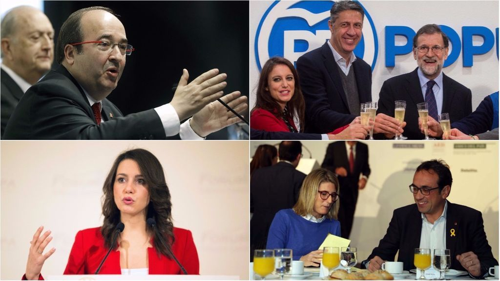 La campaña de las elecciones catalanas llega al ecuador con todo por decidir