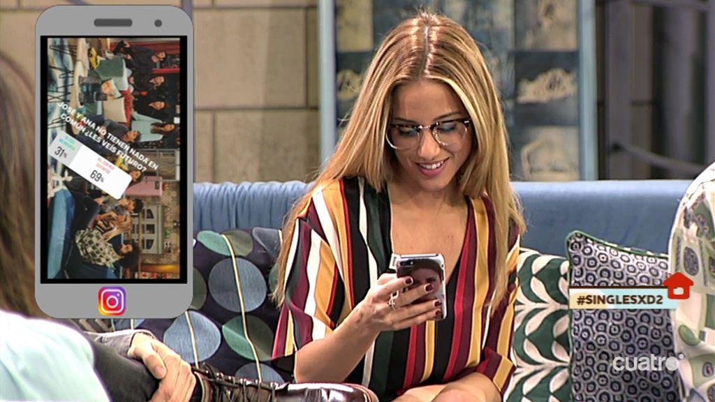 """Ana dice que su cita con José fue """"pastelosa"""" y sus followers también lo creen"""