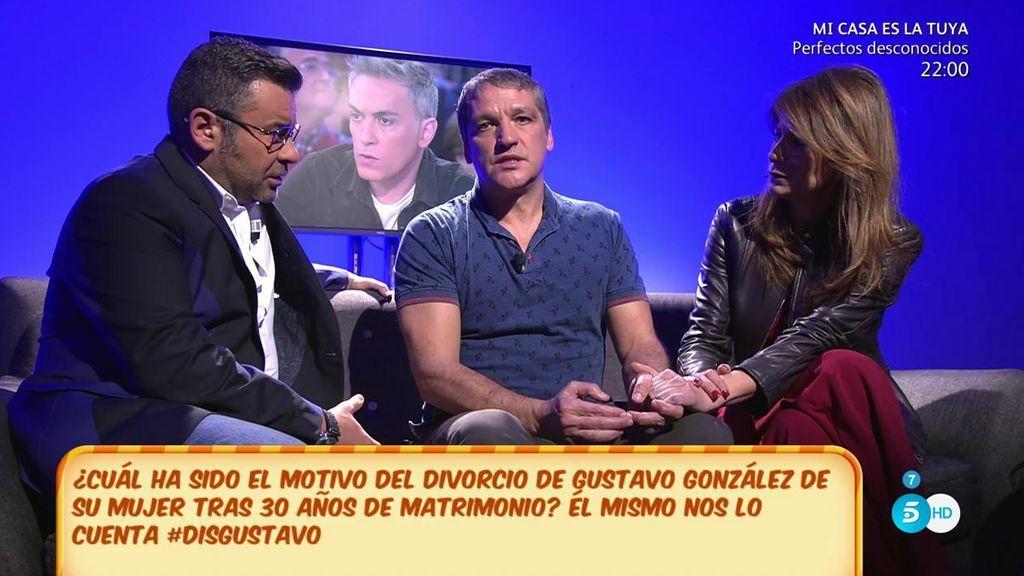 Gustavo González reconoce haber sido desleal a su mujer con María Lapiedra